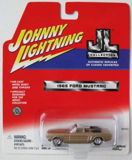 Johnny Lightning JL Collection 1965 Ford Mustang Convertible WLT