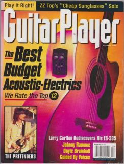 Guitar Player Magazine October 1999 The Pretenders Johnny Ramone