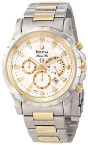 Bulova Mens 98B014 Marine Star Chronograph Watch