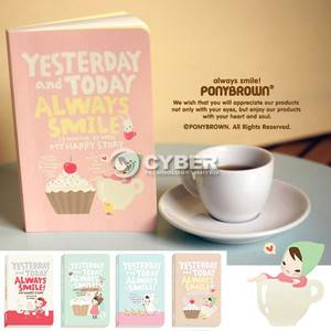 Korea Creative Stationery Cute Journal Planner Diary Daily planner Book New DZ88