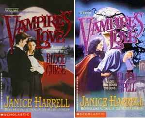 Janice Harrell Complete Vampires Love Series Blood Curse Blood Spell