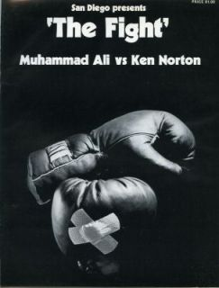 MUHUMMAD ALI VS KEN NORTON 1 BOXING PROGRAM NORTON BREAKS ALIS JAW