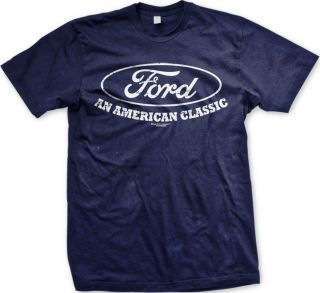 Ford An American Classic Built Tough Truck Car Classic Logonew Mens T