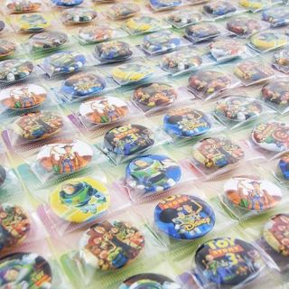 Disney Toy Story Badges Pins BIG SALES Kids Party Gift RANDOM ZZ08