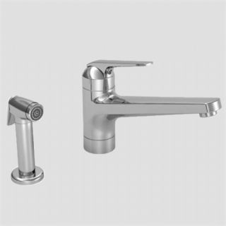 KWC 10 061 223 Domo White Kitchen Faucet with Single Lever Handle and