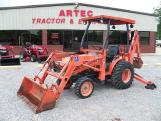 2006 Kubota B21 Loader Backhoe Tractor Low Hours