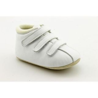 Amour F3011 Infant Baby Girls Size 3 White Leather Booties Shoes