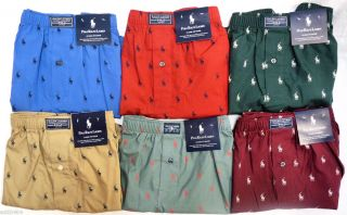 Polo Ralph Lauren Classic Fit Boxer Shorts Underwear All Over Pony