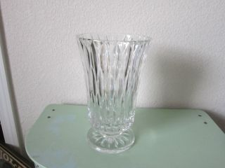 Gorgeous Large Lead Crystal Glass Vase