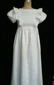 Vintage 70s RARE Early LAURA ASHLEY Maxi WEDDING DRESS Gown CROCHET