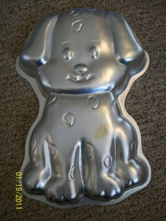 Vintage Wilton Dalmation Puppy Dog Cake Pan