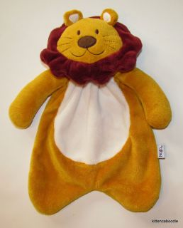 NoJo Jungle Tales Lenny Lion Security Blanket Buddy Lovey Baby Toy