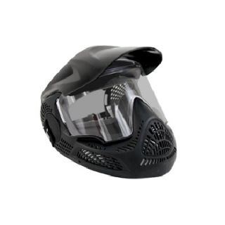 TP420 Paintball Performance Goggle Mask Black TP 420 Clear Lens