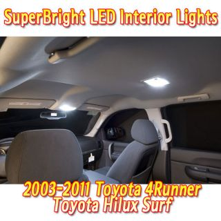 Toyota 4Runner Hilux Surf Superbright LED Interior Lights Set