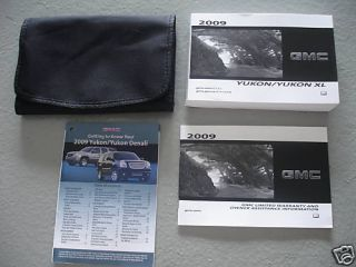 2009 GMC Yukon Owners Manual Guide Books Literature