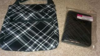 Thirty One Organizing Shoulder Bag Along with A Timeless Wallet