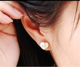 G9307 New Fashion Jewelry Women Personality Shell Love Heart Earring