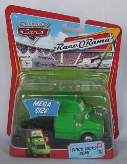 Disney Pixar Cars Chick Hicks Semi 8 Race O Rama Package Mega Size