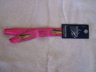 Guy Harvey Sunglass Strap Croakies Mahi Dolphin Costa