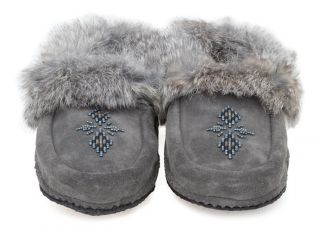 Manitobah Mukluks Traveller Suede Moccasin with Crepe Sole