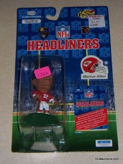 Marcus Allen Kansas City Chiefs NFL Headliners NFL Football