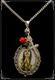 Marilyn Manson Charm Necklace