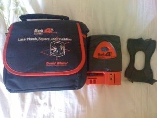 DAVID WHITE Mark 4PL   5 beam Laser self Leveling Plumb, Square and