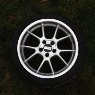 Used Set of 4 BBs Wheels Rims 8x17