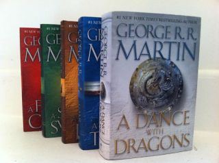 Fire Game of Thrones Hardcover Set Brand New George R R Martin