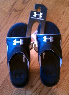 NWT Mens UNDER ARMOUR Flip Flop Shoe Sandal Massage Chesapeake Slide