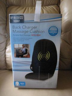 HoMedics Thera P Back Charger Massage Chair Seat Cushion w Heat VC 100