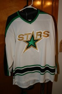 Dallas Stars Blank Hockey Jersey Size L