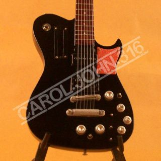 Miniature Guitars Matt Bellamy Manson 007 Black Muse Custom Guitar
