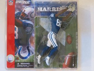 Marvin Harrison Series 2 No Helmet Variant Football McFarlane