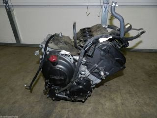 03 05 YAMAHA R6 06 09 R6S ENGINE MOTOR 14K MILES RUNS GOOD 2003 2004