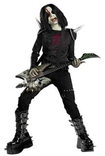 Metal Mayhem Zombie Rock Star Marilyn Manson Halloween Child Costume
