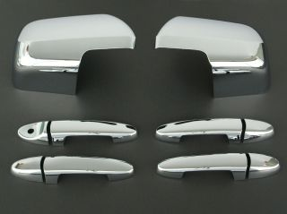 2008 2011 Mazda Tribute Chrome Door Handle Mirror Cover