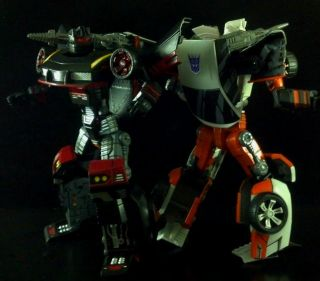 TRANSFORMERS CUSTOM MASTERPIECE SCALE RUNABOUT AND RUNAMUCK G1 COLOSAL