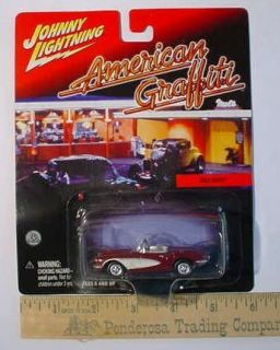 Diecast Car American Graffiti Mels Dinner 1962 Chevy Vette