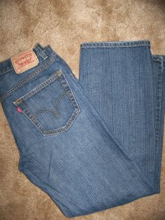 Mens Levis 559 Relaxed Straight Jeans 34 x 32