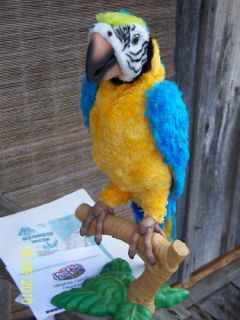 Fur Real Squawkers McCaw Parrot FurReal Friends Macaw