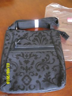 Thirty One Organizing Shoulder Bag Brand New Still in Plastic Black