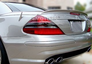 PAINTED MERCEDES BENZ SL CLASS R230 A Type Trunk Spoiler Wing 11 ABS