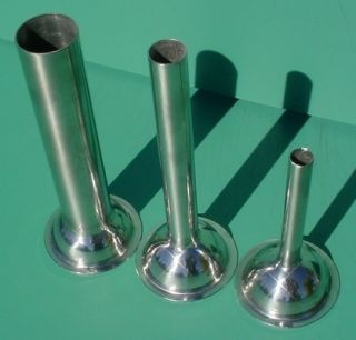 Stainless Steel Stuffing Tubes for 8 Meat Grinder