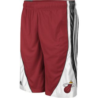 Miami Heat NBA Adidas Flash Mens Shorts Red White Black