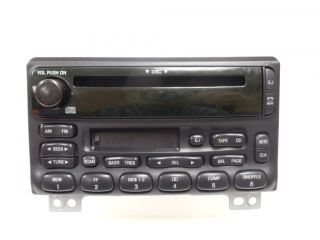 Ford Explorer Mustang Mercury Mountaineer Radio CD Player 2001 2002