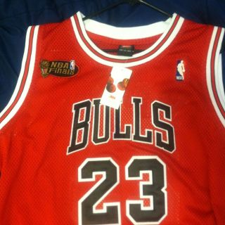 Michael Jordan NBA Finals Authentic Jersey