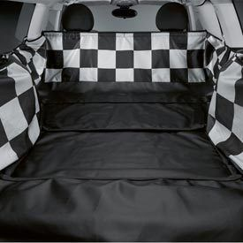 Mini Cooper Clubman Checkered Boot Protection Cover New