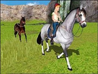 Barbie Horse Adventures Wild Horse Rescue Xbox, 2003