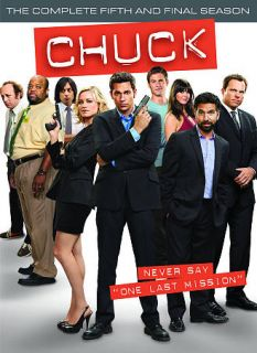 Chuck The Complete Fifth Season DVD, 2012, 3 Disc Set